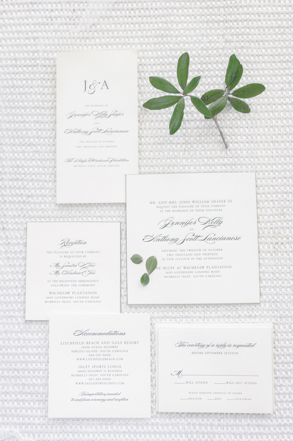 Myrtle Beach Wedding Invitations