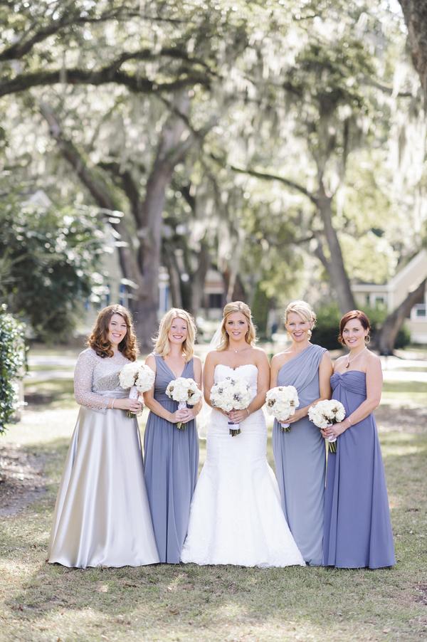 Lilac Myrtle Beach Bridesmaids Dresses