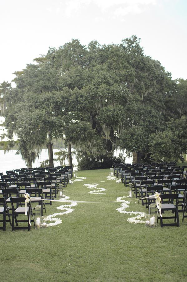 Wachesaw Plantation wedding ceremony