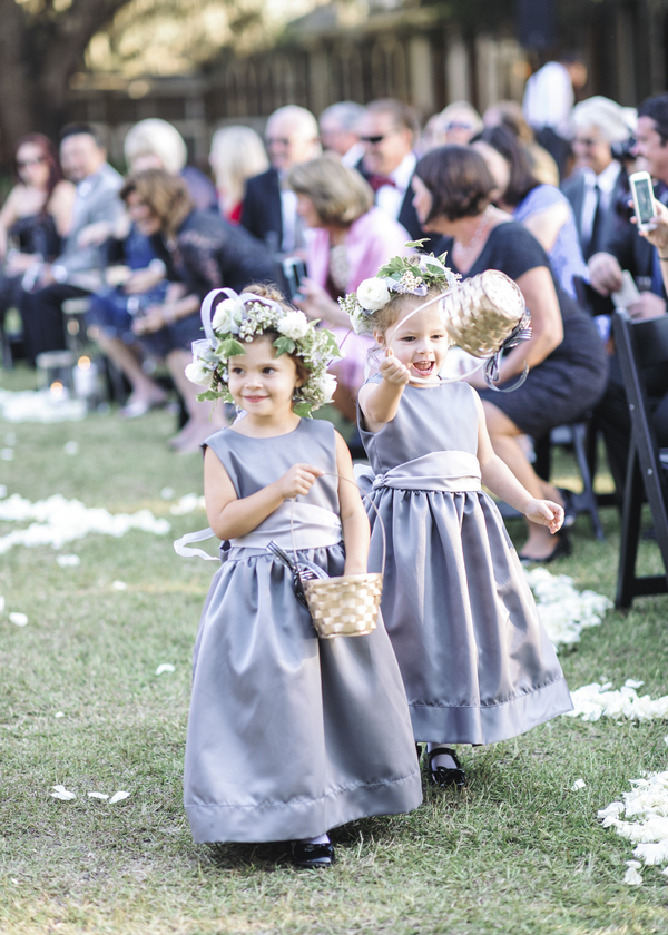 Lilac Flower girl Dresses