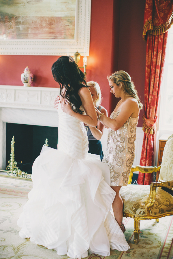 Hayley Paige Wedding Dress at Charleston Wedding