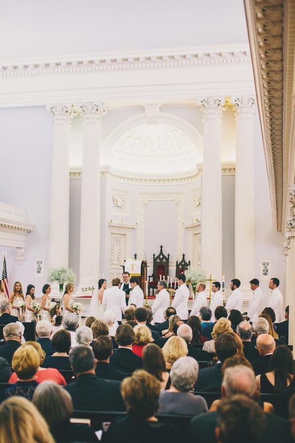 Charleston Wedding Ceremony at Trinity United Methodist Church