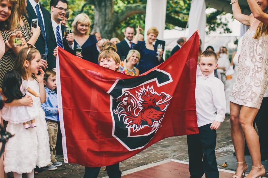 University of South Carolina Gamecocks Wedding
