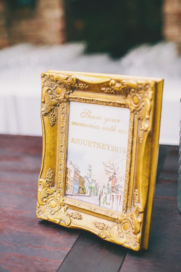 Gold & Pink wedding decor