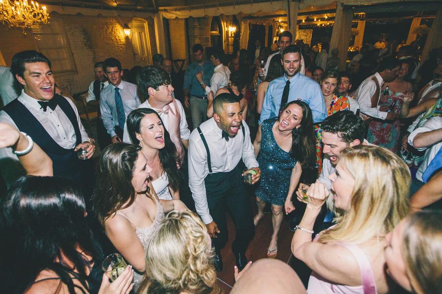 Charleston Wedding Reception dance floor