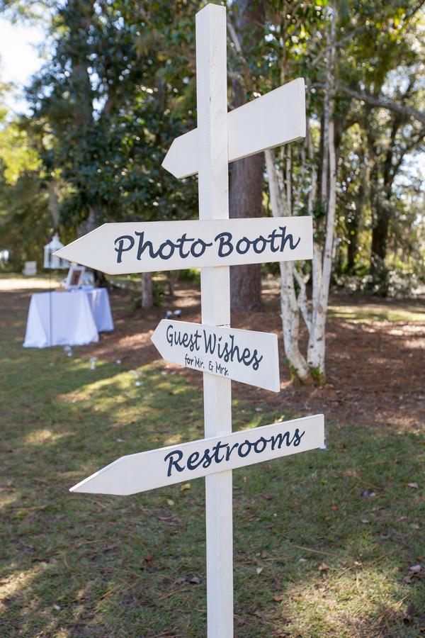Myrtle Beach Wedding sign