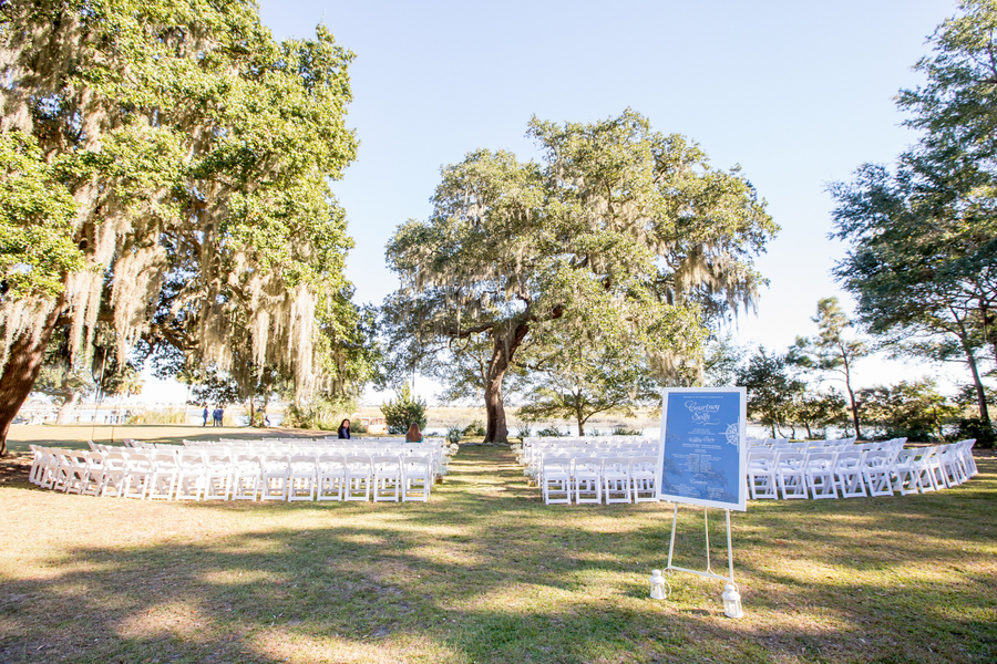 Myrtle Beach Wedding ceremony at Sunnyside Plantation
