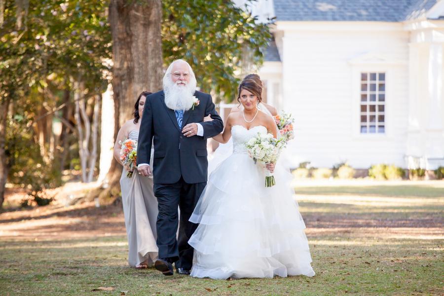 Myrtle Beach Outdoor Wedding Ceremony at Sunnyside Plantation