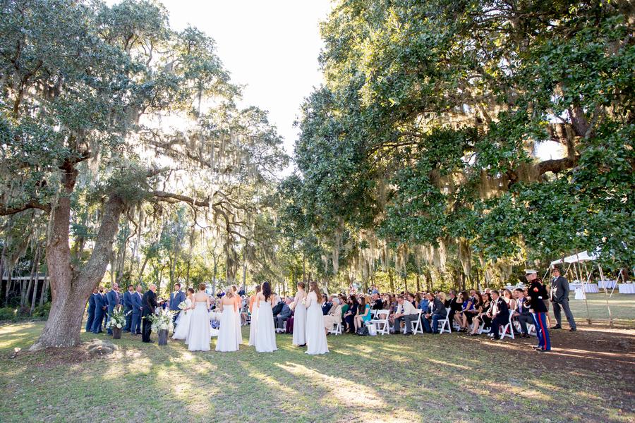 Sunnyside Plantation wedding ceremony