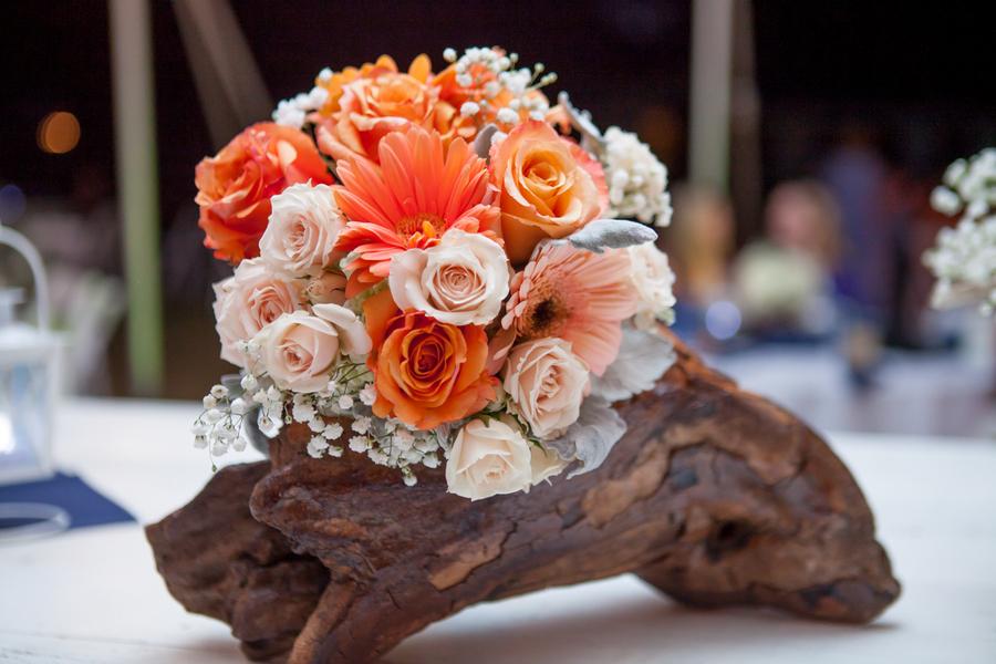 Coastal wedding details at Sunnyside Plantation wedding