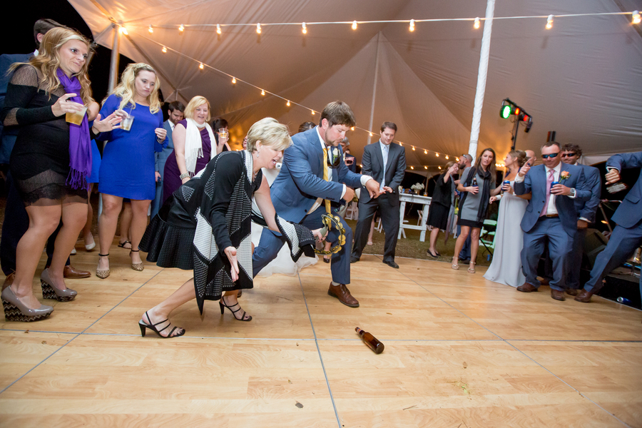 Myrtle Beach wedding reception dancing by Brooke Christl Photography