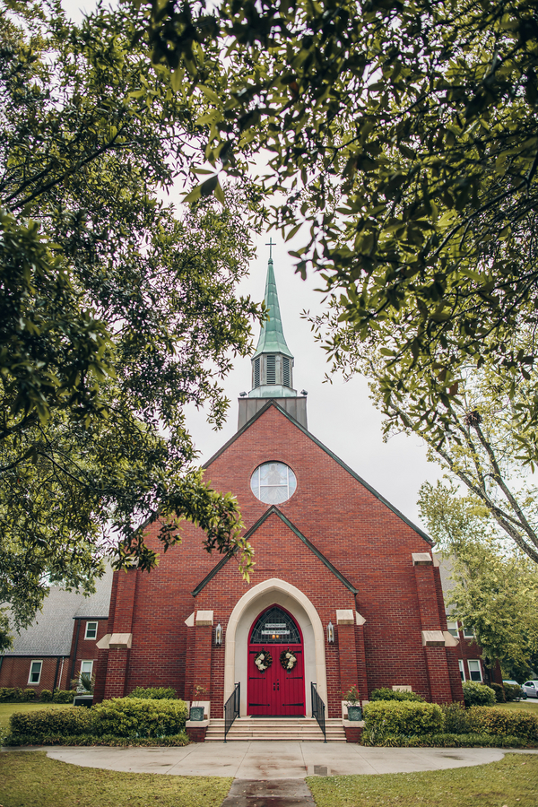 Charleston Wedding at The Lutheran Church of the Reedemer