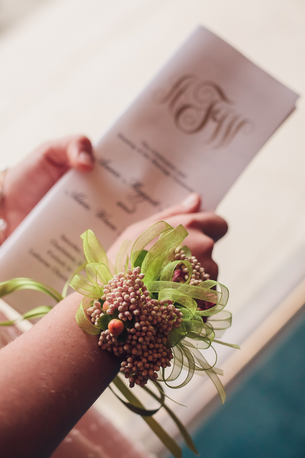 Charleston Wedding Ceremony Programs