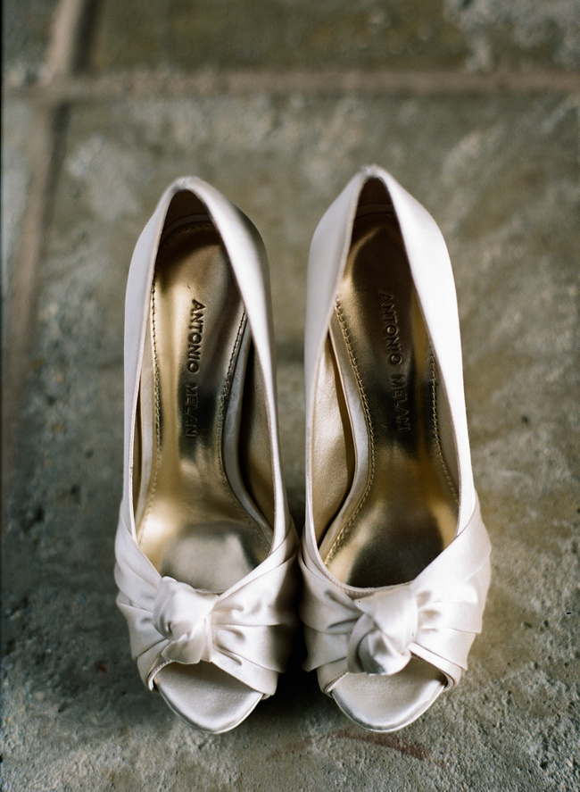Gold Lowcountry Wedding Shoes at RiverOaks