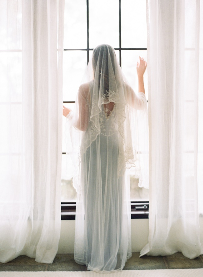 Wedding Veil by Shop Gossamer in Charleston SC at RiverOaks by Faith Teasley Photography