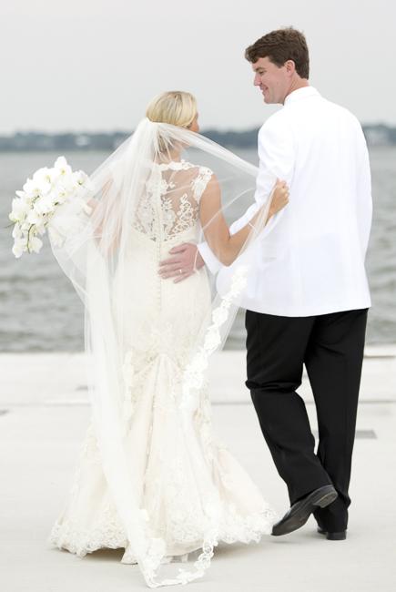 Charleston Wedding reception via Captured by Kate Photography