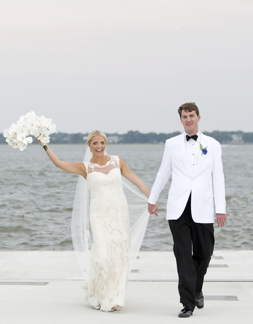 Charlotte & Hunter's Charleston Wedding reception