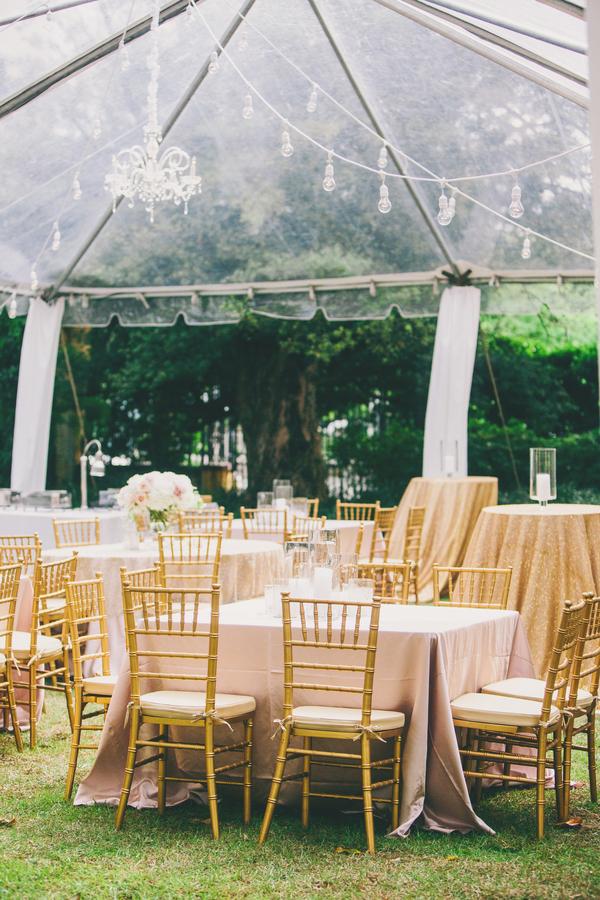 Gold & pink wedding at William Aiken House