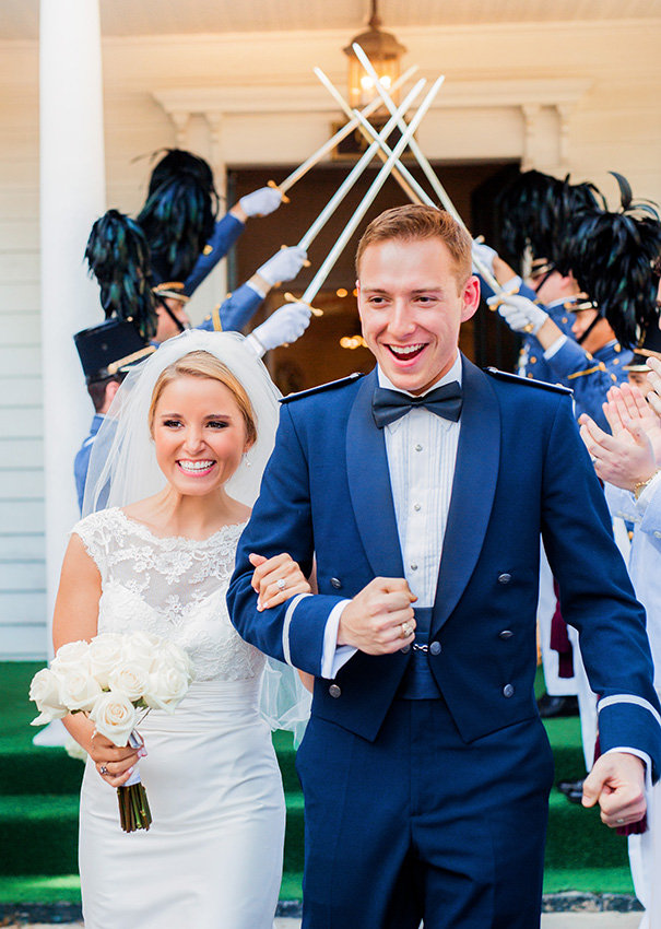Military wedding in Beaufort, Sc by Jessica Roberts Photography