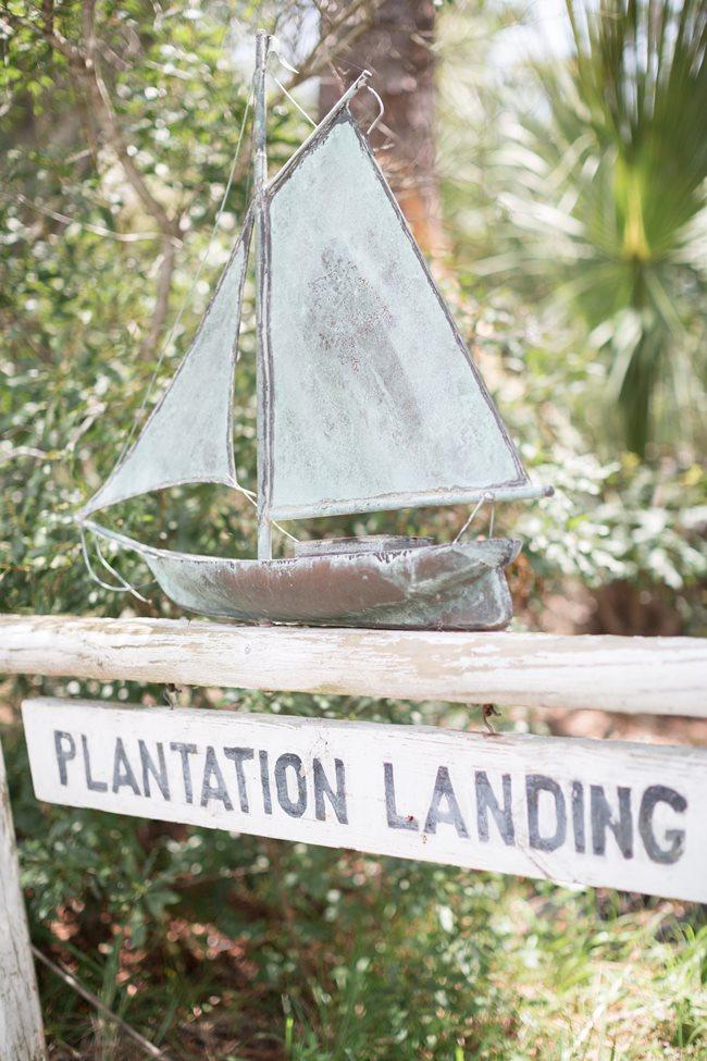 Plantation Landing wedding ceremony on Wilmington Island by Lyndi J. Photography