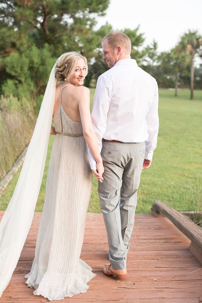 Bride & GrooSavannah Wedding Dress by Free People