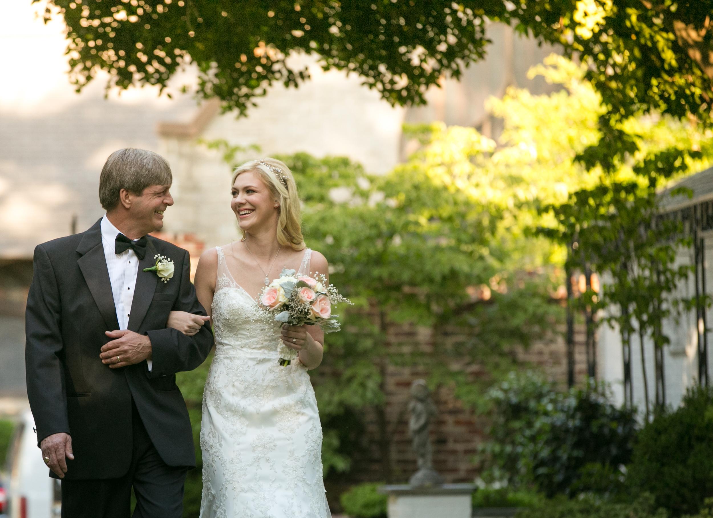 Lace House wedding ceremony