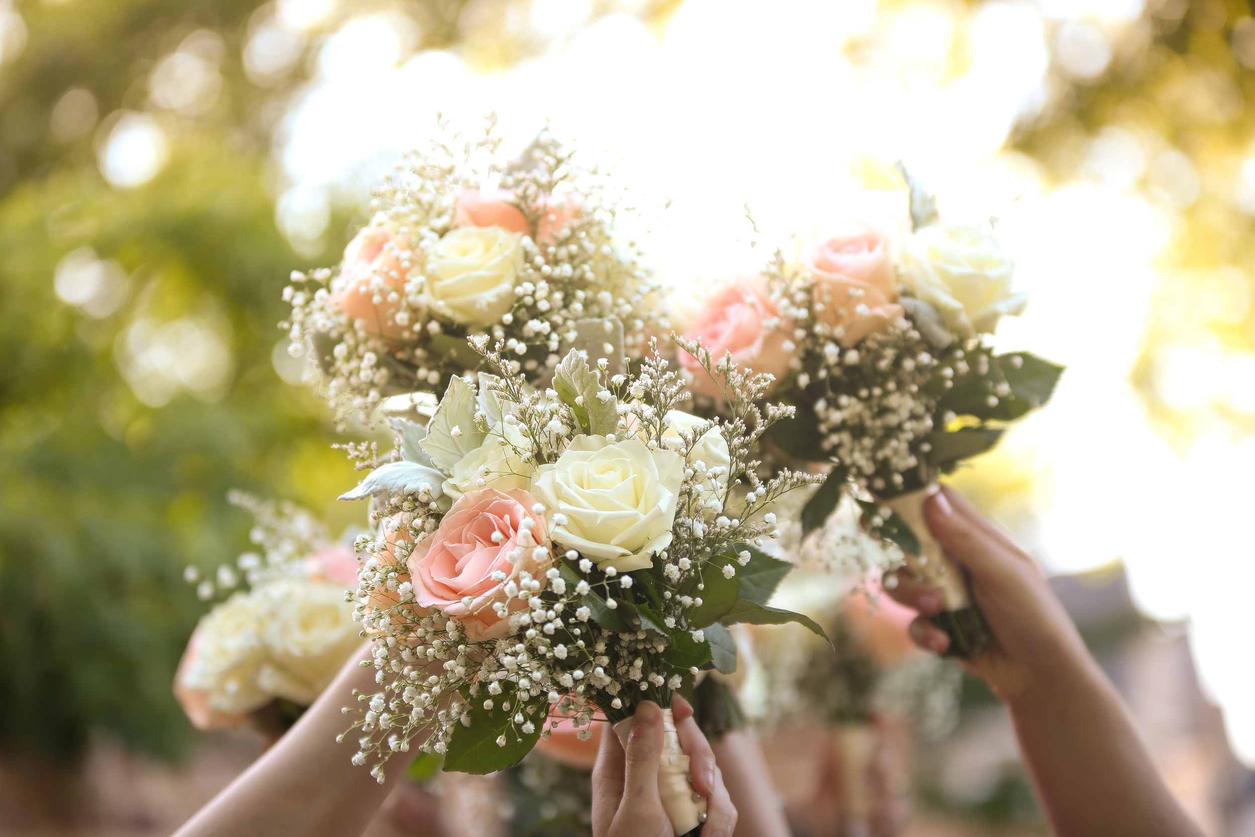 South Carolina Wedding bouquets at The Lace House by Jolie Connor Photography