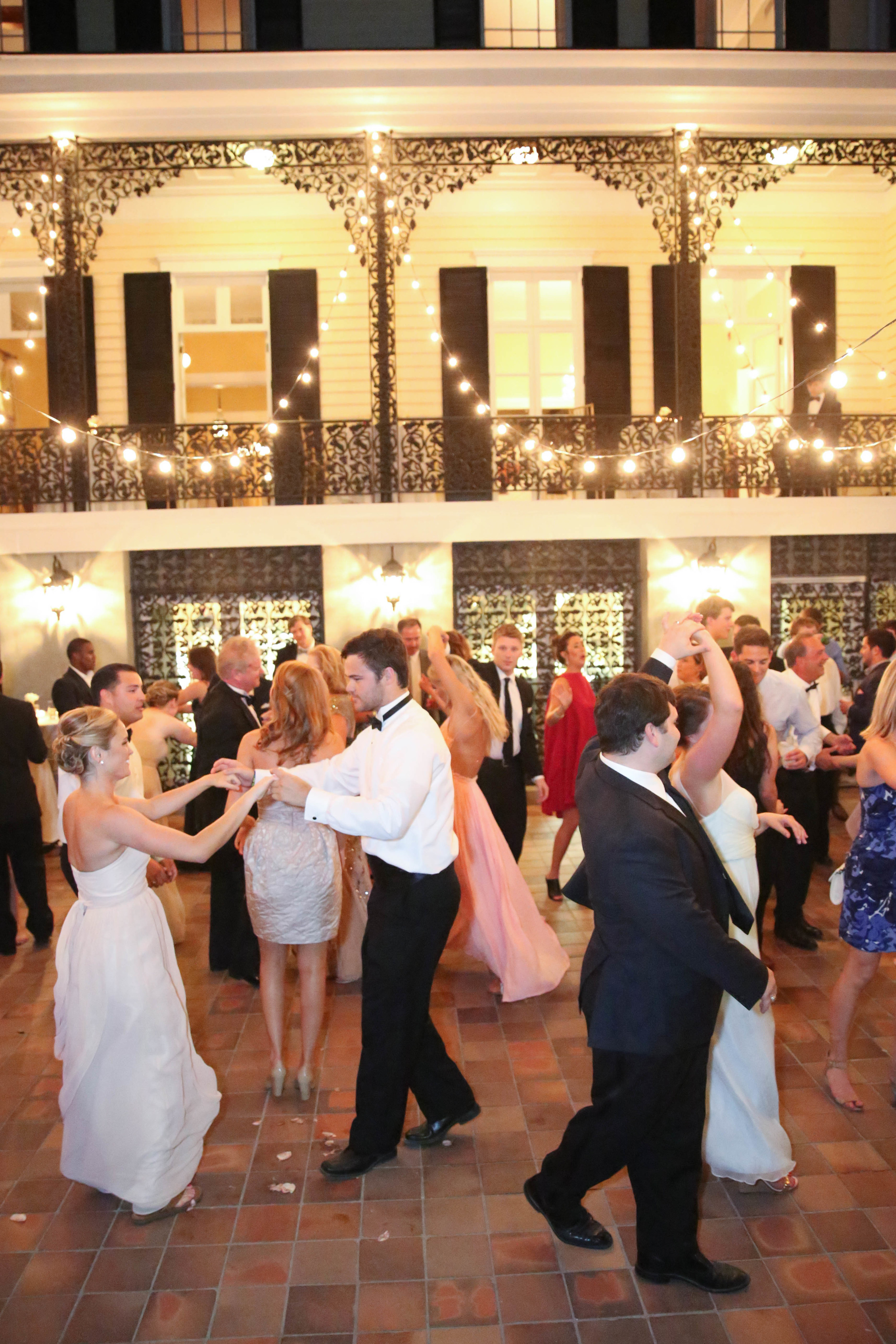 Columbia SC wedding reception at the Lace House