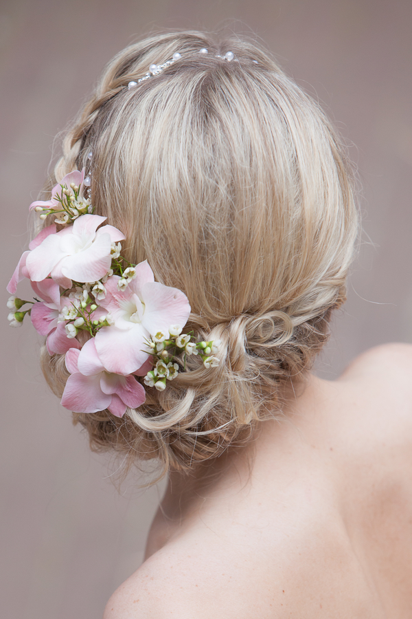 Charleston Wedding Floral Crown
