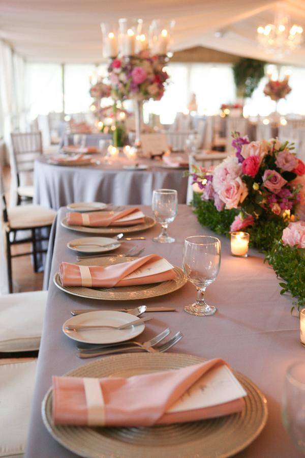 Pink Middleton Place Wedding