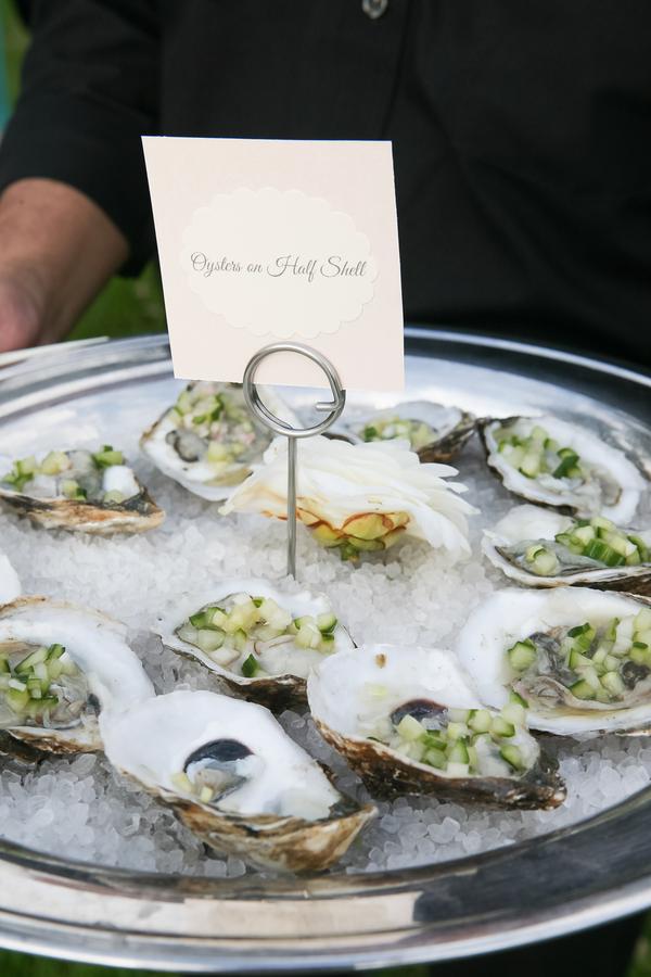 Charleston wedding catering - oysters rockefeller