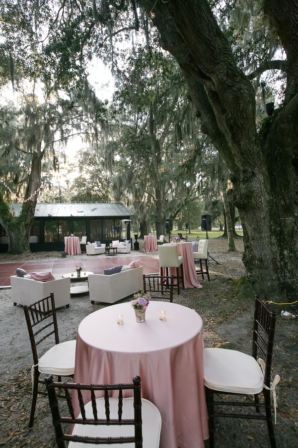 Outdoor Charleston wedding at Middleton Place by Engaging Events