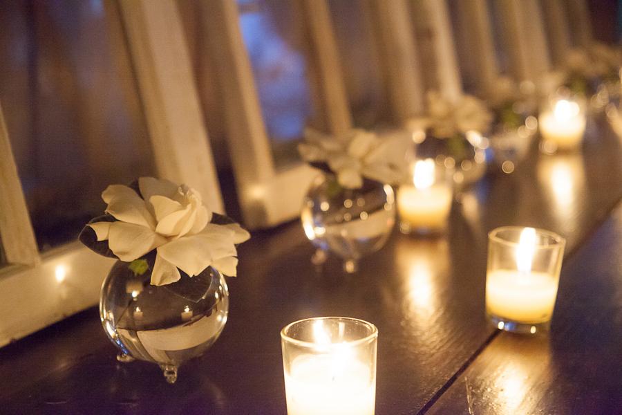 Evening Middleton Place wedding in Charleston, SC