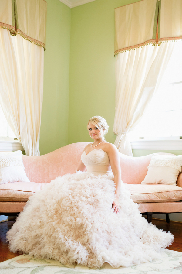 Charleston Wedding Portraits at Legare Waring House by Priscilla Thomas Photography