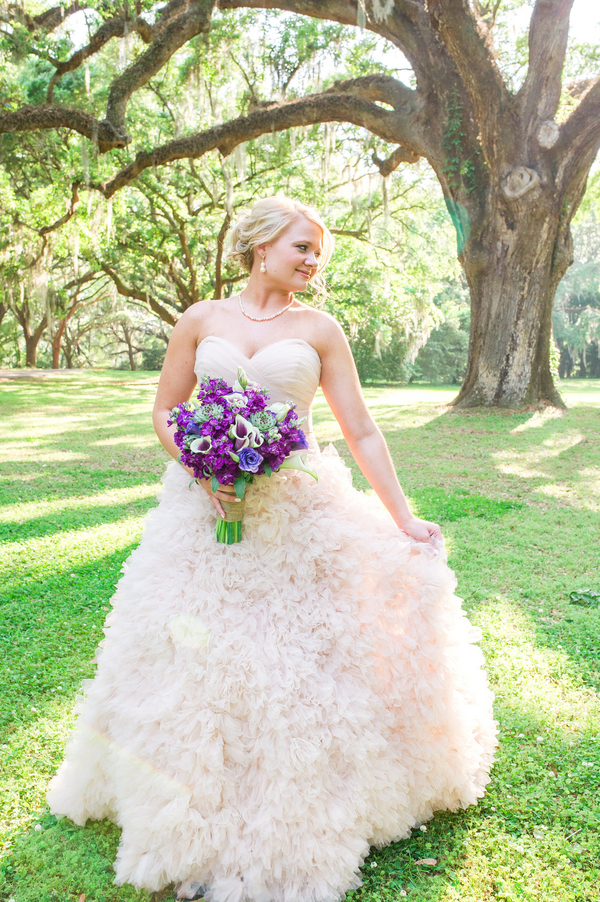Lauren Shipe Shook's Charleston bridal portraits at Legare Waring House