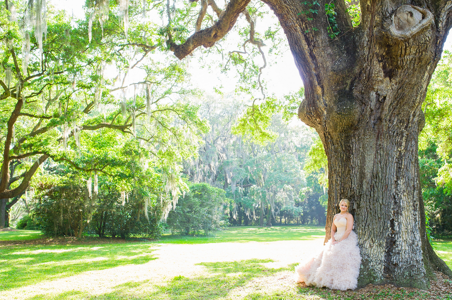 Lauren Shipe Shook's Charleston wedding portraits at Legare Waring House by Priscilla Thomas Photography