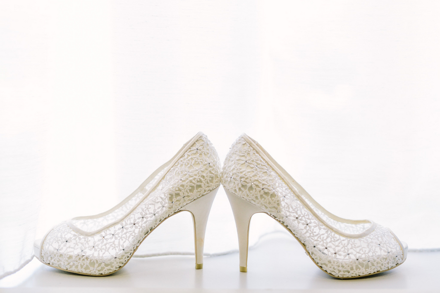 Myrtle Beach wedding shoes by One Life Photography