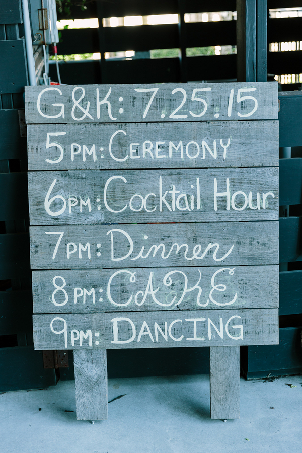 Summer wedding timeline in Myrtle Beach, SC by One Life Photography