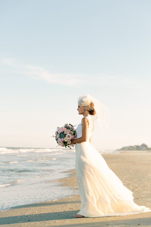 Beach wedding in Myrtle Beach, SC by One Life Photography