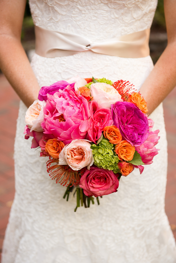 Citadel Beach House wedding bouquet by Charleston Flower Market