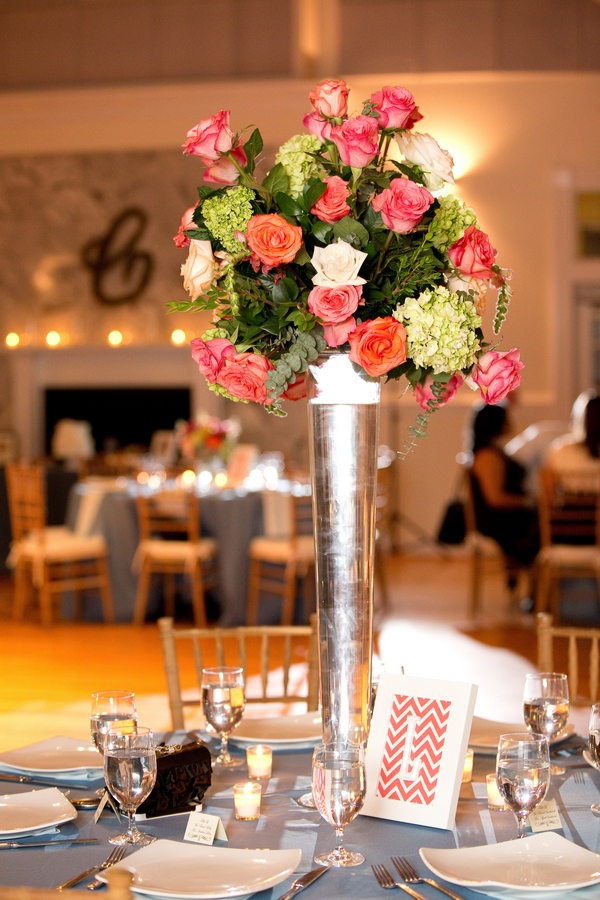 Citadel Beach House wedding flowers by Charleston Flower Market