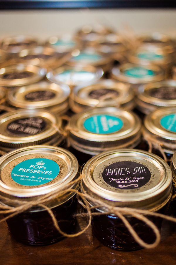 Charleston wedding favors at Cooper River Room