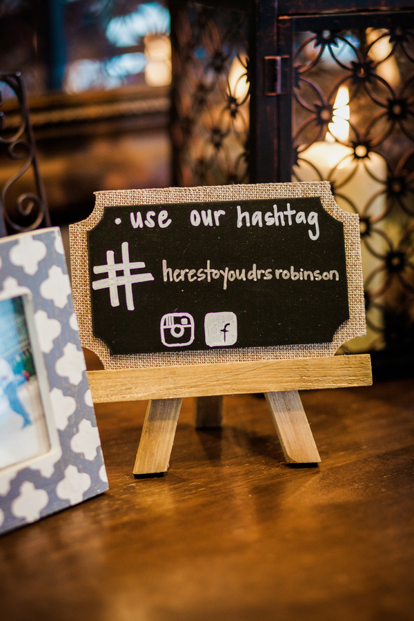Charleston wedding hashtag at Cooper River Room