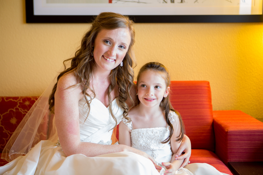 Flower girl at Charleston Yacht Club wedding by Stacy Howell Photography