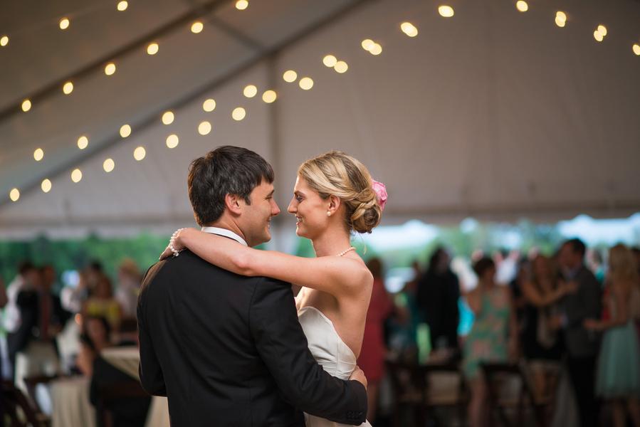Purple Charleston wedding at Boone Hall Plantation by Riverland Studios
