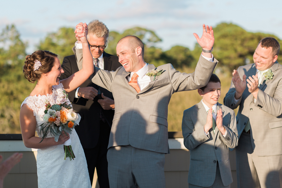 Lowcountry Wedding Ceremony at Fripp Island by Riverland Studios