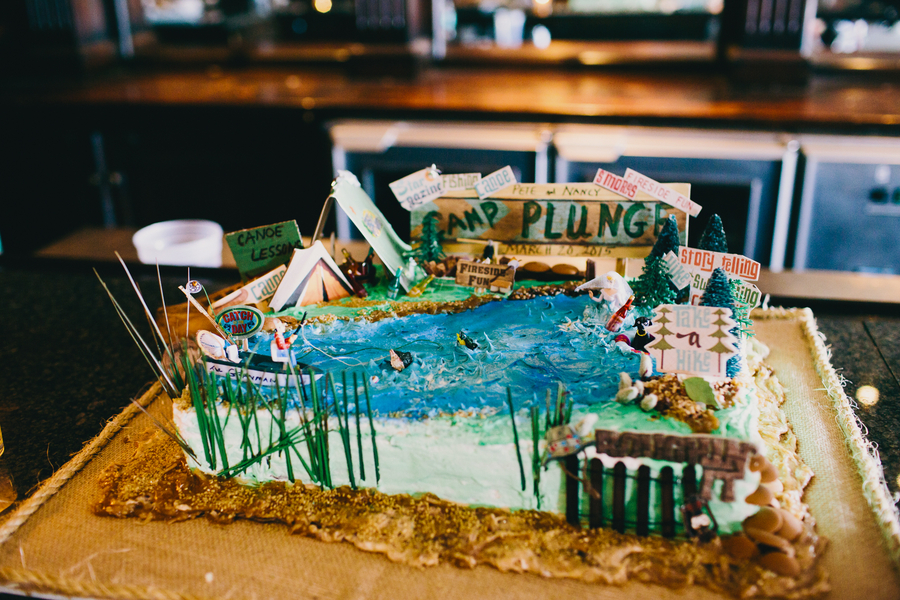 Groom's Cake at Rice Mill Building Wedding in Charleston, SC by Hyer Images
