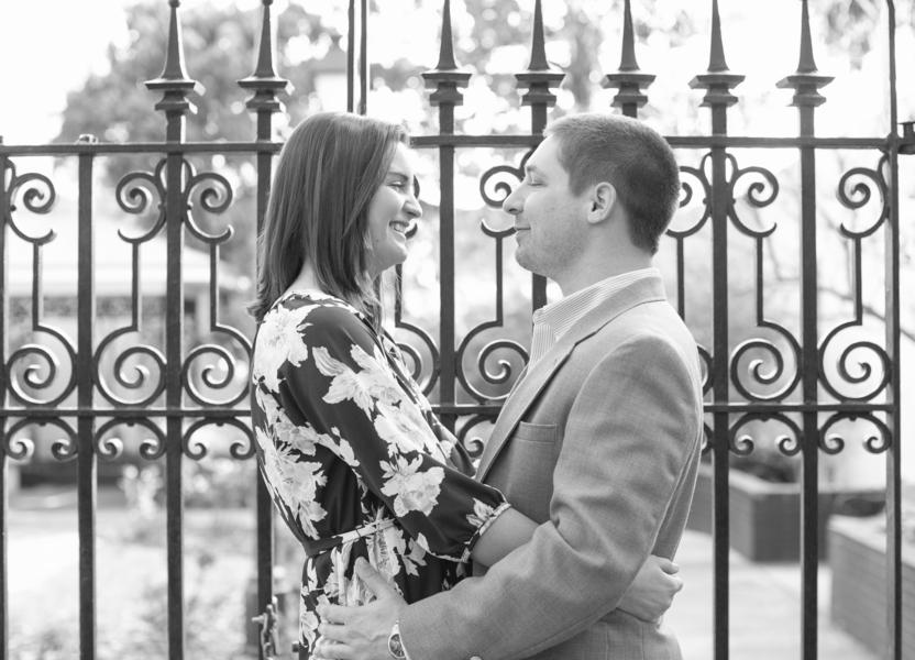 Savannah Wedding Engagement at Forsyth Park by Chloe Giancola Photography