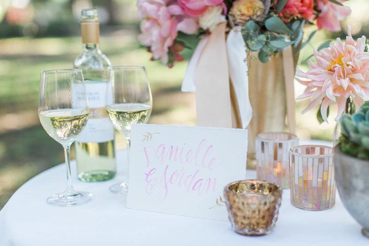 Savannah Wedding Inspiration with pastel flowers including peonies