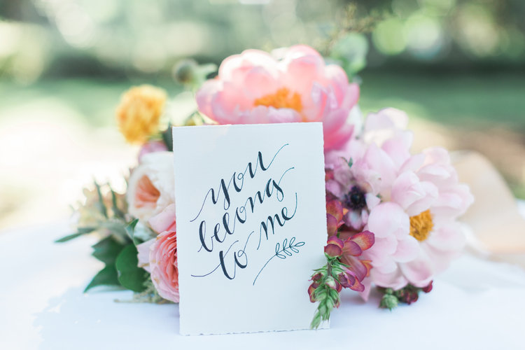 Savannah Wedding Inspiration with pastel flowers